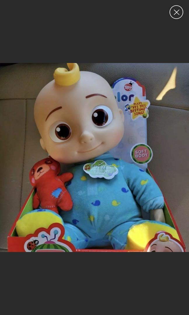 Cocomelon bedtime musical doll