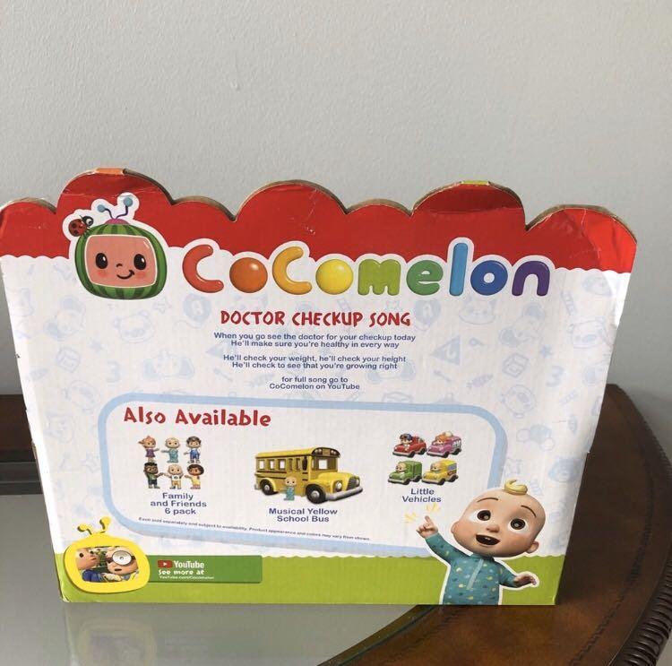 Cocomelon Doctor set