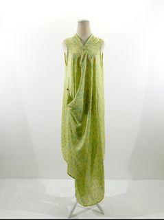 Dress viscose hijau