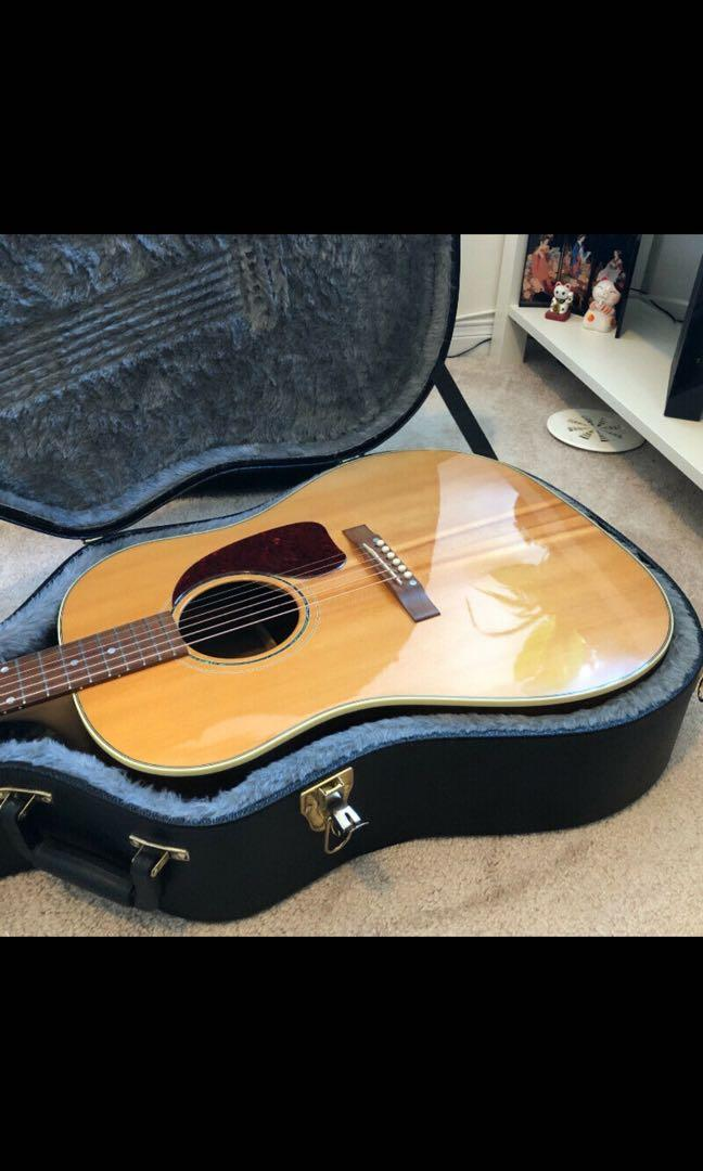 Gibson J-15 Acoustic guitar  -Walnut Dreadnought in Antique Natural