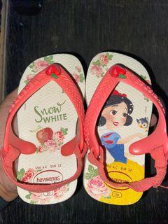 Havaianas Baby Snow White size 20, euro 22