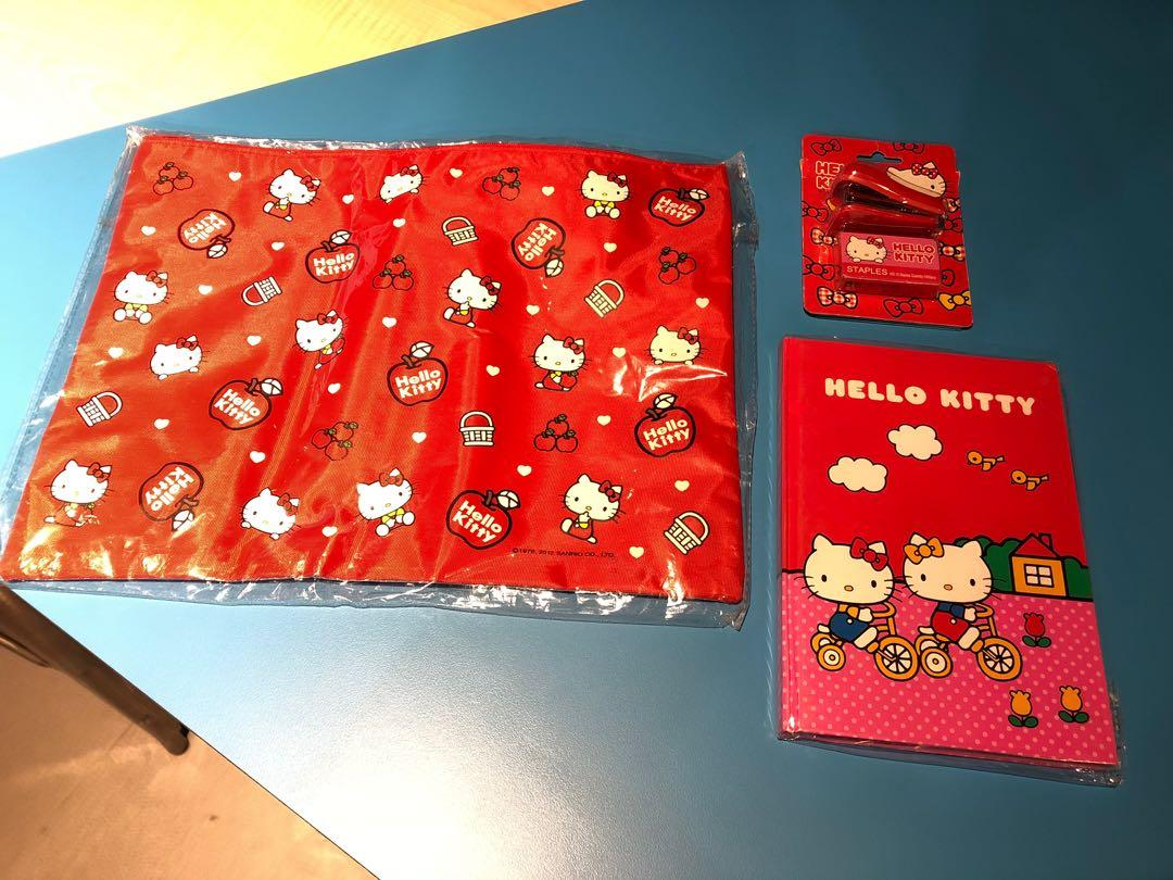 HELLO KITTY文具組