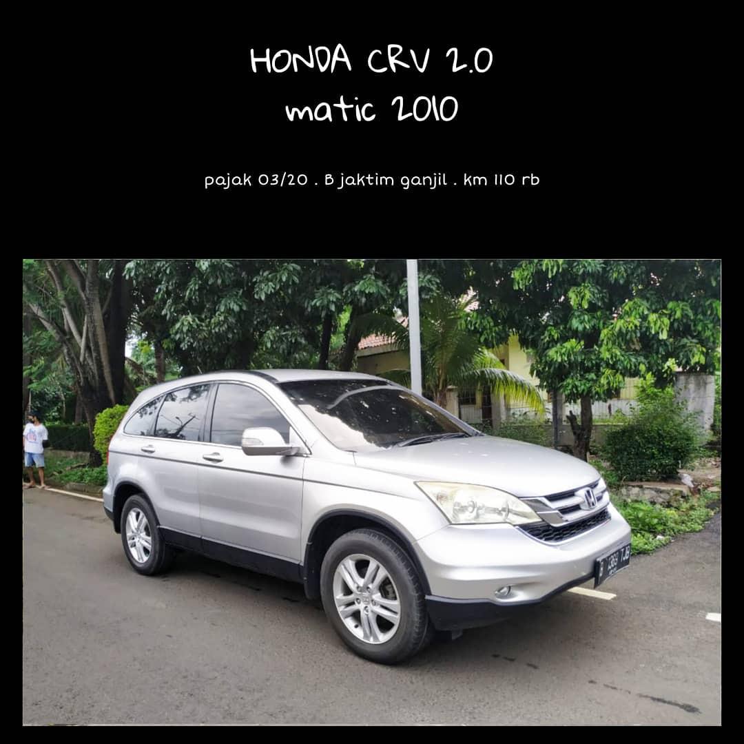 Honda crv matic 2010