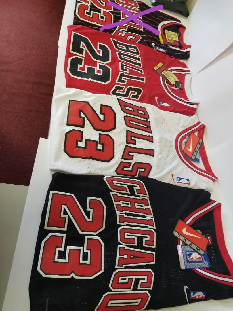 Jordan Basketball jersey bulls