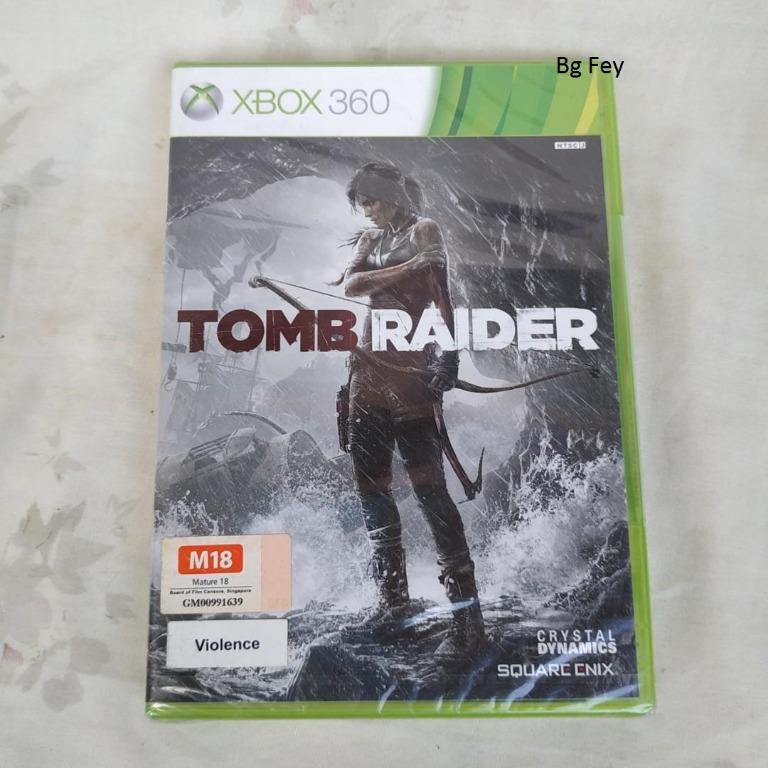 Kaset XBOX 360 Original Tomb Raider - Segel