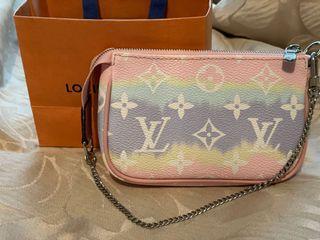 Louis Vuitton Mini Pochette Accessories LV Escale Pastel