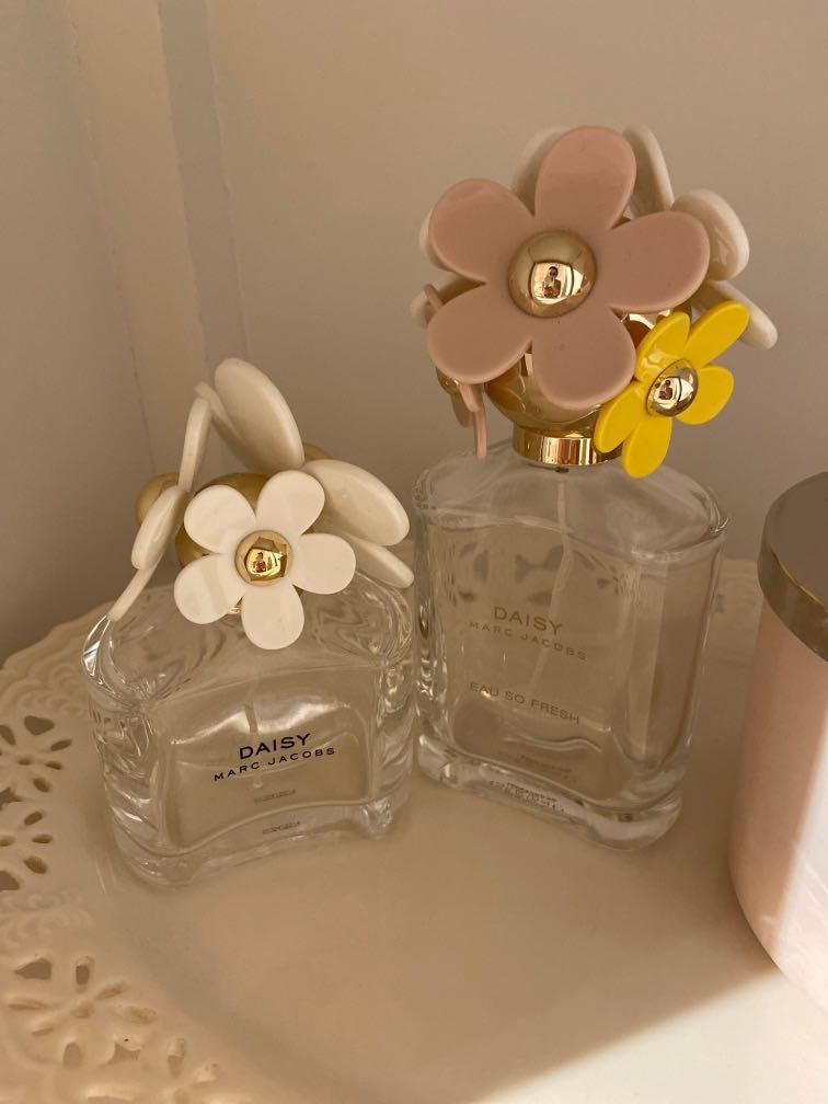 Marc Jacobs Empty Perfume Bottles