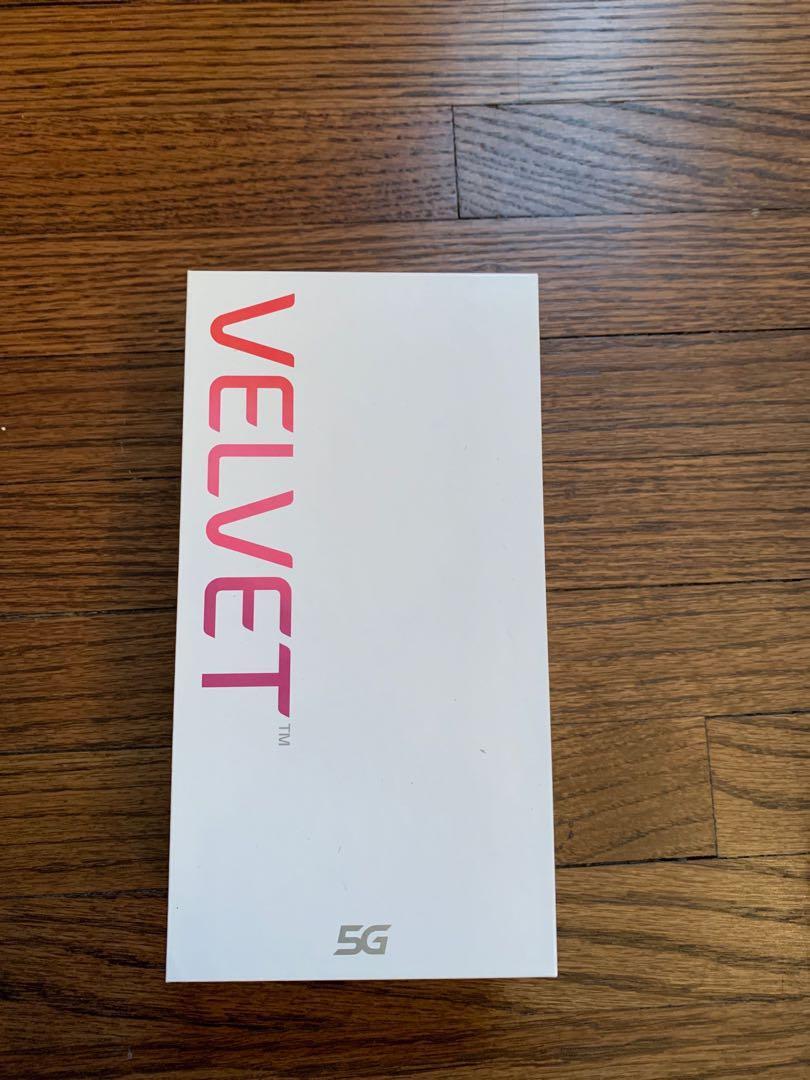 New LG Velvet