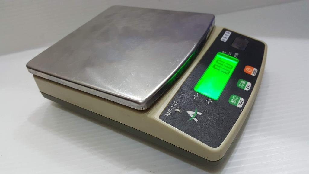 P-101 電子秤 3Kg 精度0.1g 插電 電池二用