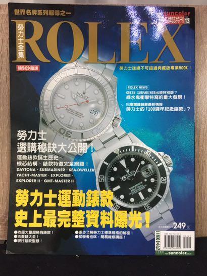 ROLEX 勞力士全集 (絕對珍藏版)