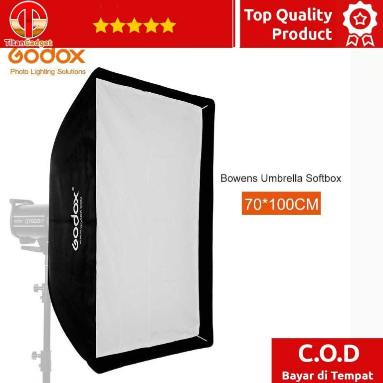 Softbox Reflector Umbrella Rectangular 70x100cm - SB-US-70100 TitanGadget