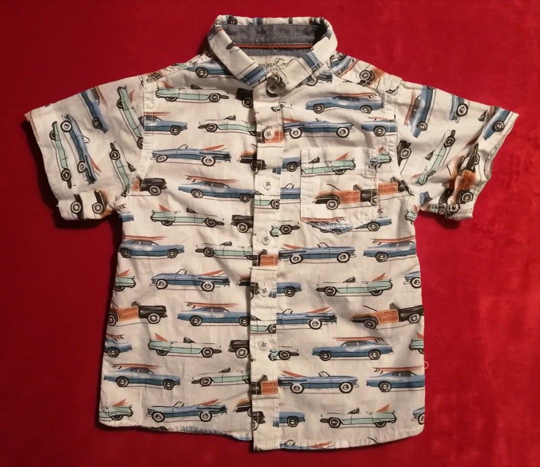 Sovereign Code Boys Button Down Shirt