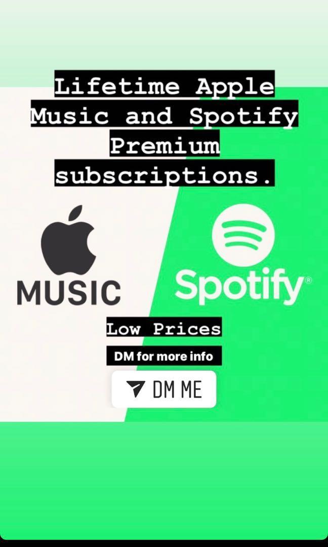 spotify lifetime subscription