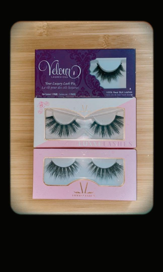 (x3) Luxe False Lashes