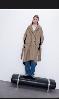 Zara trench coat size medium NWOT