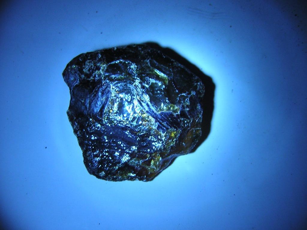 藍珀原礦~長34.5mm