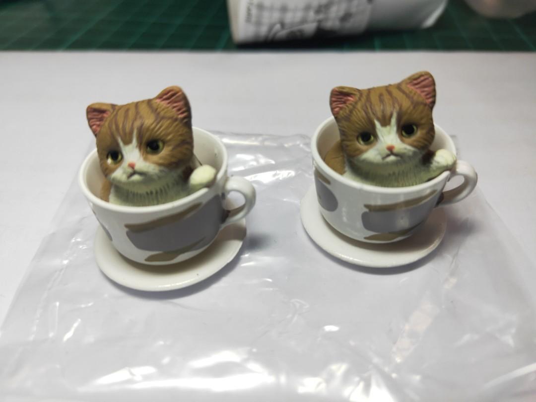 杯子上的貓