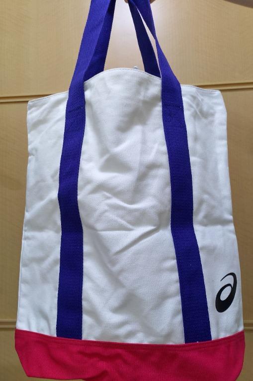 Asics tote backpack cotton bag