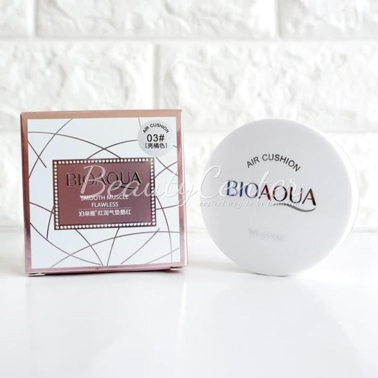 Blush on Bioaqua Blush On Cushion Smooth Muscle Flawless