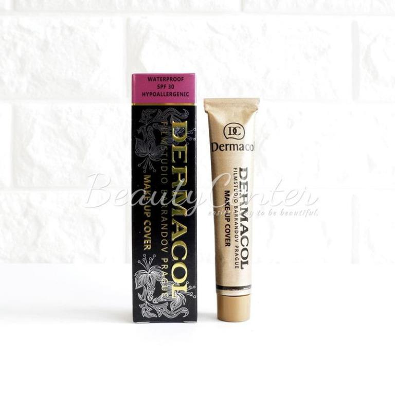 Foundation Dermacol Make Up Cover / Make Up Coverage Waterproof SPF 30
