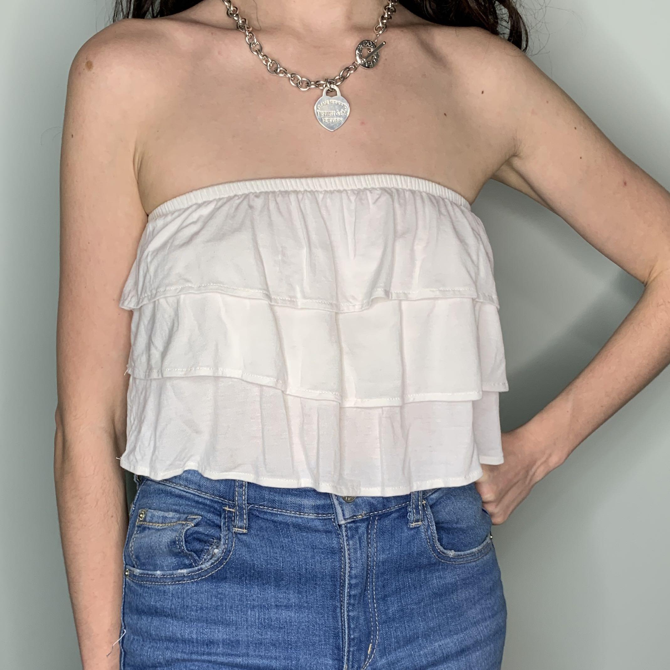 Frilly Tube Top