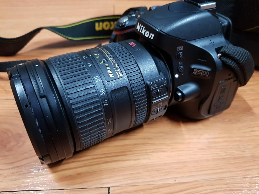 FT/FS Nikon D5100 with Nikon  18-200 lens