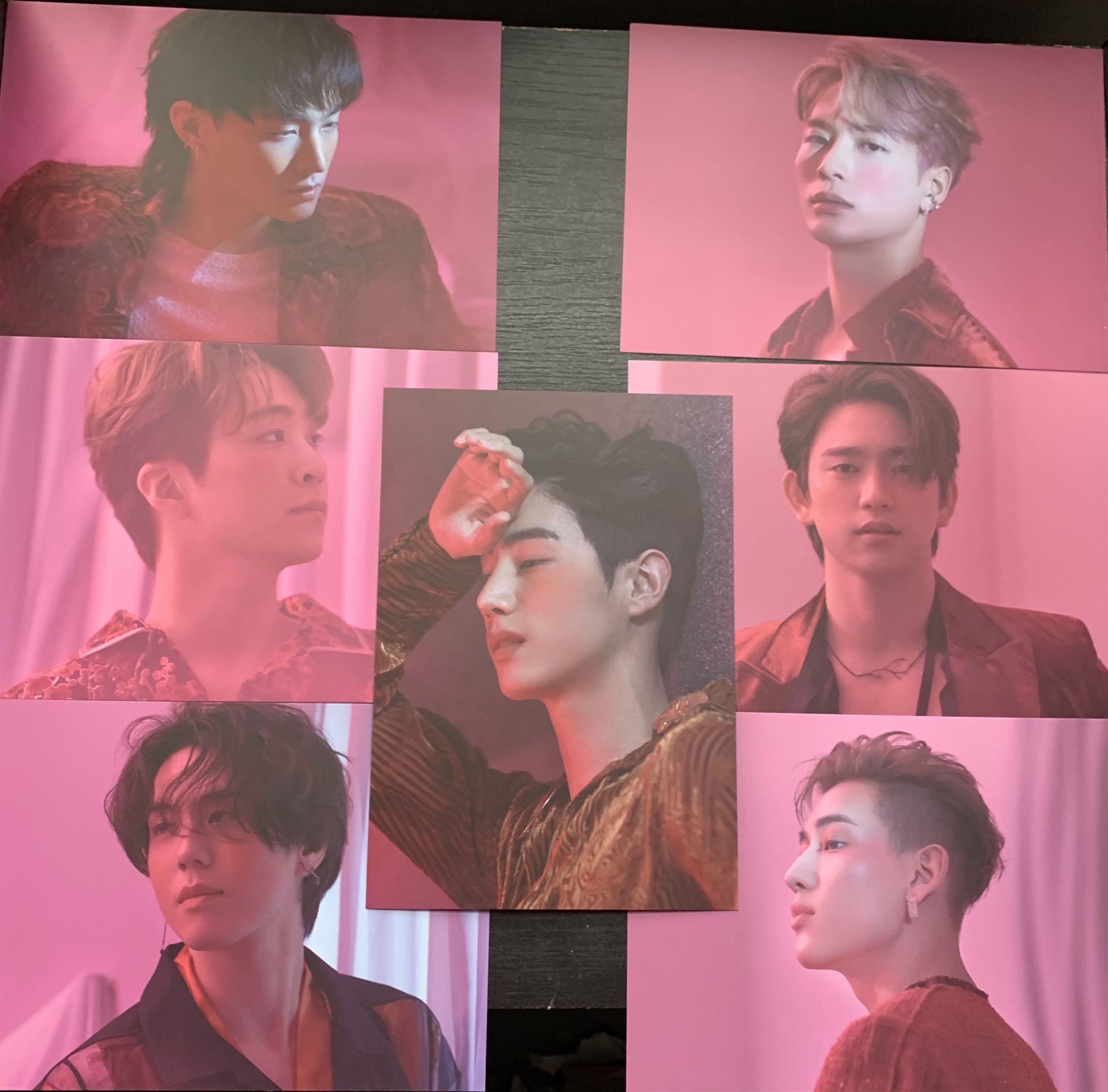 Got7 Postcard Sets