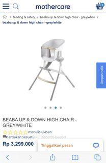 High Chair Kursi Makan Bayi Anak Beaba