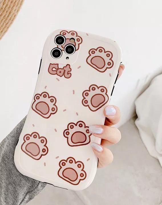 貓掌iphone7/8+軟殼