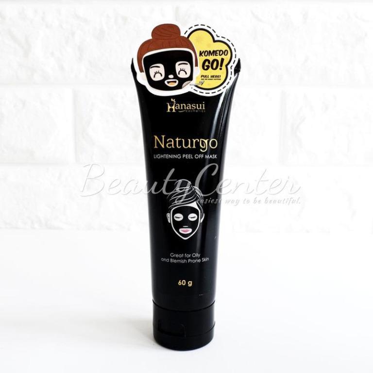 Masker Wajah [Tube] Hanasui Naturgo Lightening Peel Of Mask 60gr