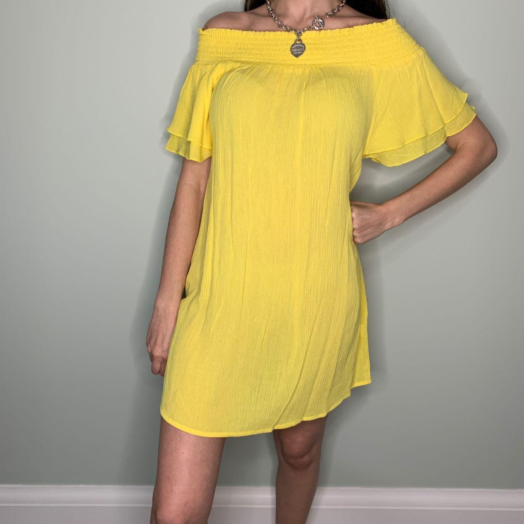 Off the Shoulder Flowy Dress