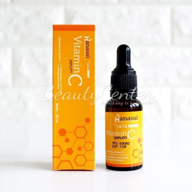 Paket Perawatan Wajah [BPOM] New Serum Vitamin C / Hanasui / Dus Kuning