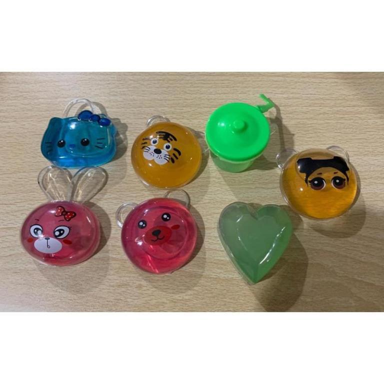 Slime Slime Murah Meriah Warna Warni / Mainan Anak - Anak - Hello Kitty