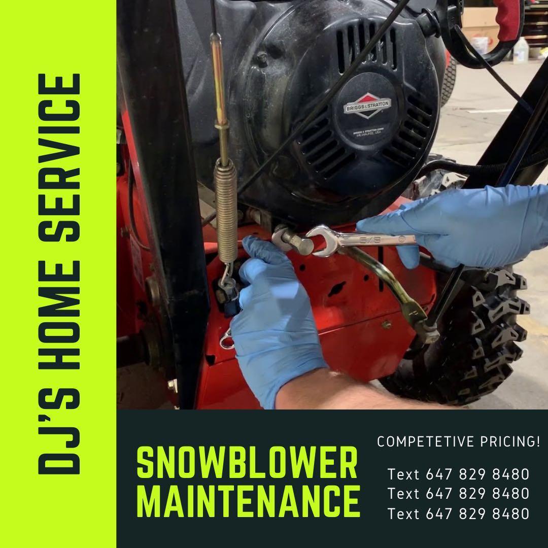 Snowblower Servicing / Maintenance