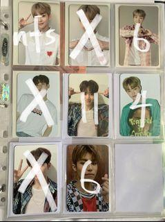 wts treasure photocards (chap1 and 2)