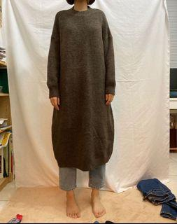 熱可可針織洋裝