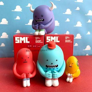 韓國設計師 黏黏怪物研究所 年年怪物 坐坐 系列