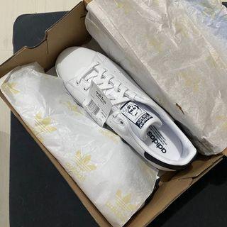 Adidas Stan Smith Core White / Navy Blue Size US 10