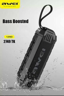 Awei Y280 speaker with powerbank bass enhance and boosted WATERPROOF