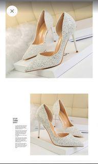Bigtree glitter heels