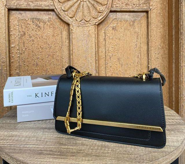 Charles and Keith Metallic Accent