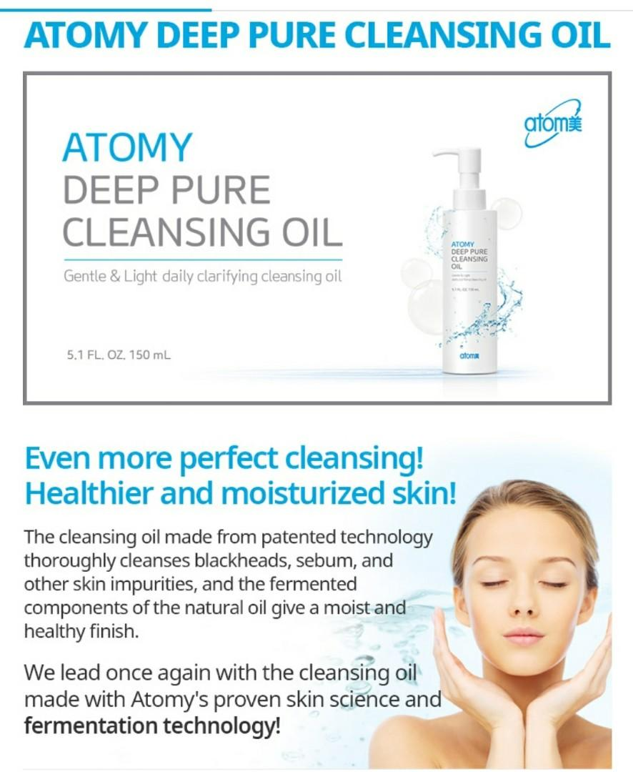 Deep Pure Cleansing Oil