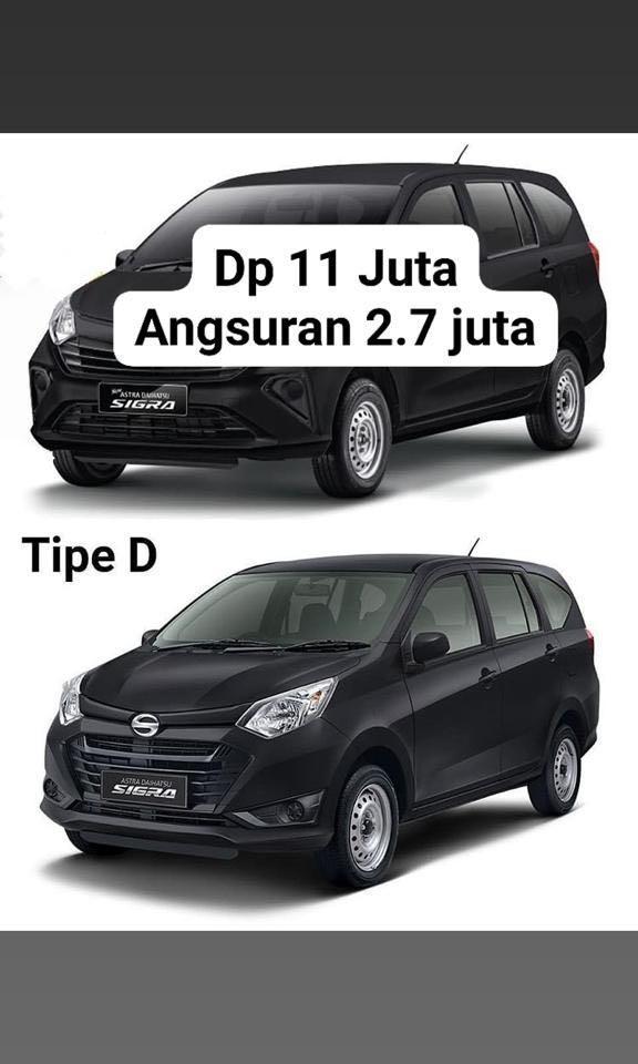 DP RINGAN Daihatsu Sigra 11 jutaan. Daihatsu Fatmawati
