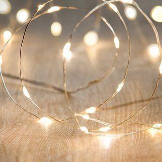 Fairy Lights Copper wire LED Battery operated