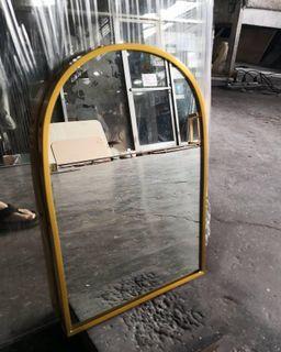 Framed arc mirrors mini 8x12 inches