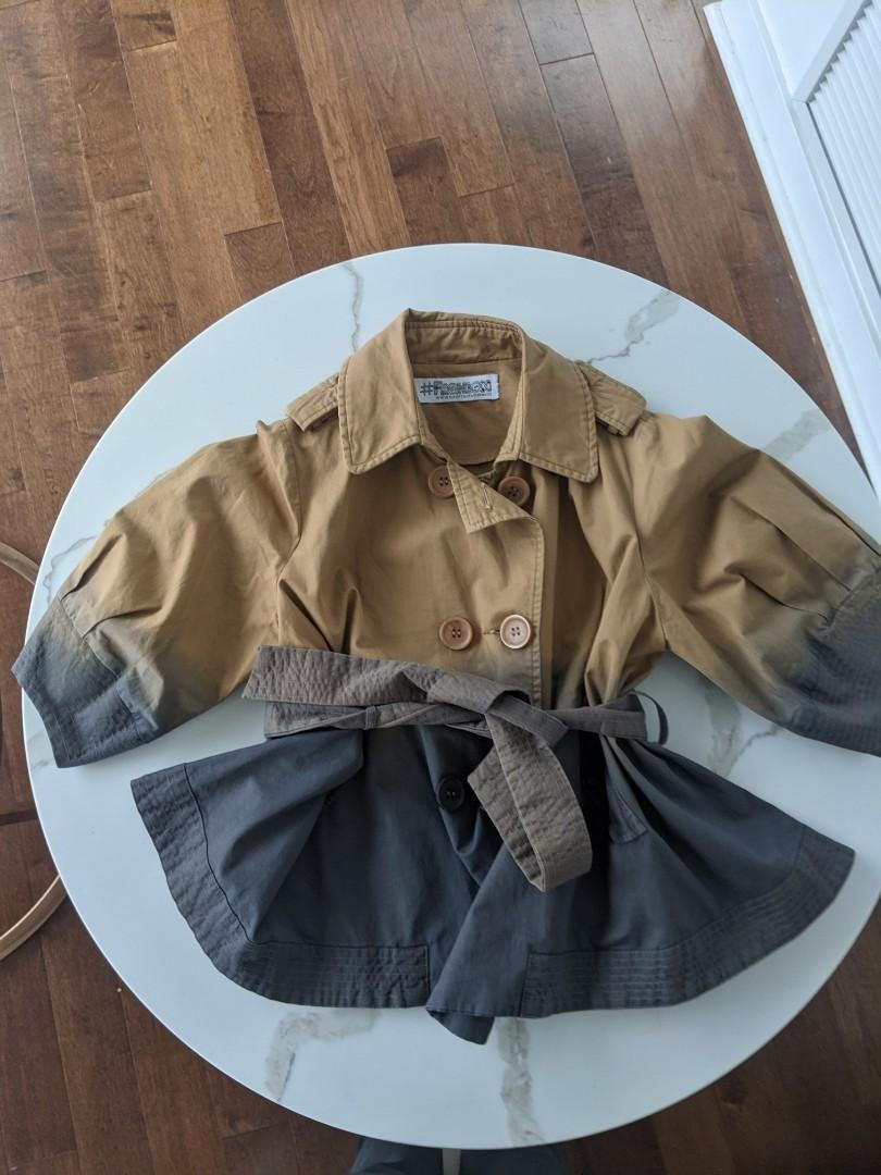 Handmade ombre Jacket Top