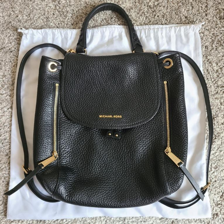 Micheal Kors ViV Large Leather Backpack