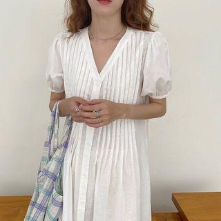 ‼️New‼️Cotton Linen Midi Dress