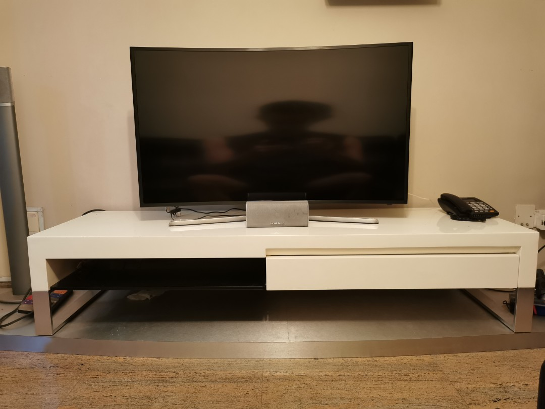 Om Home Designer Tv Console Furniture Shelves Drawers On Carousell