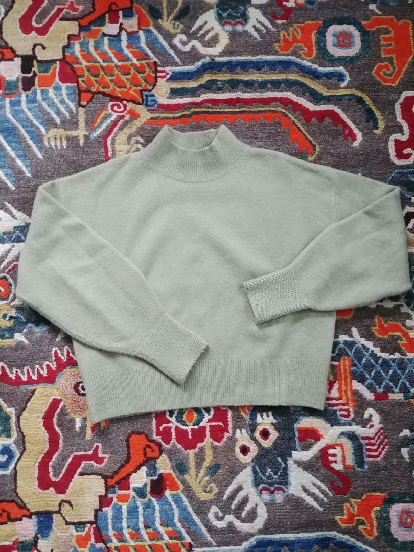 &Other Stories Mint Green Sweater
